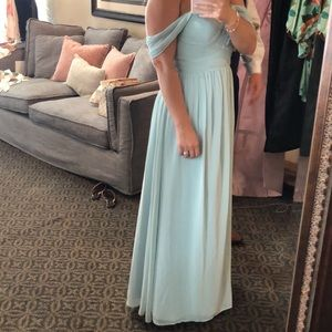 revelry Dresses - Reverly blue strapless dress